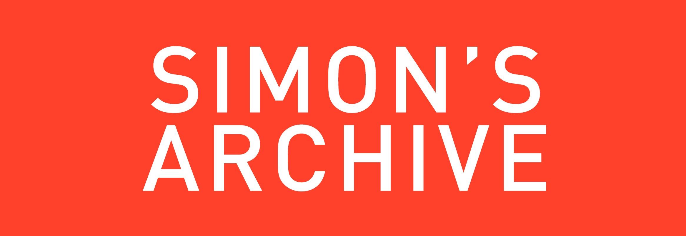 SimonsArchive---Header