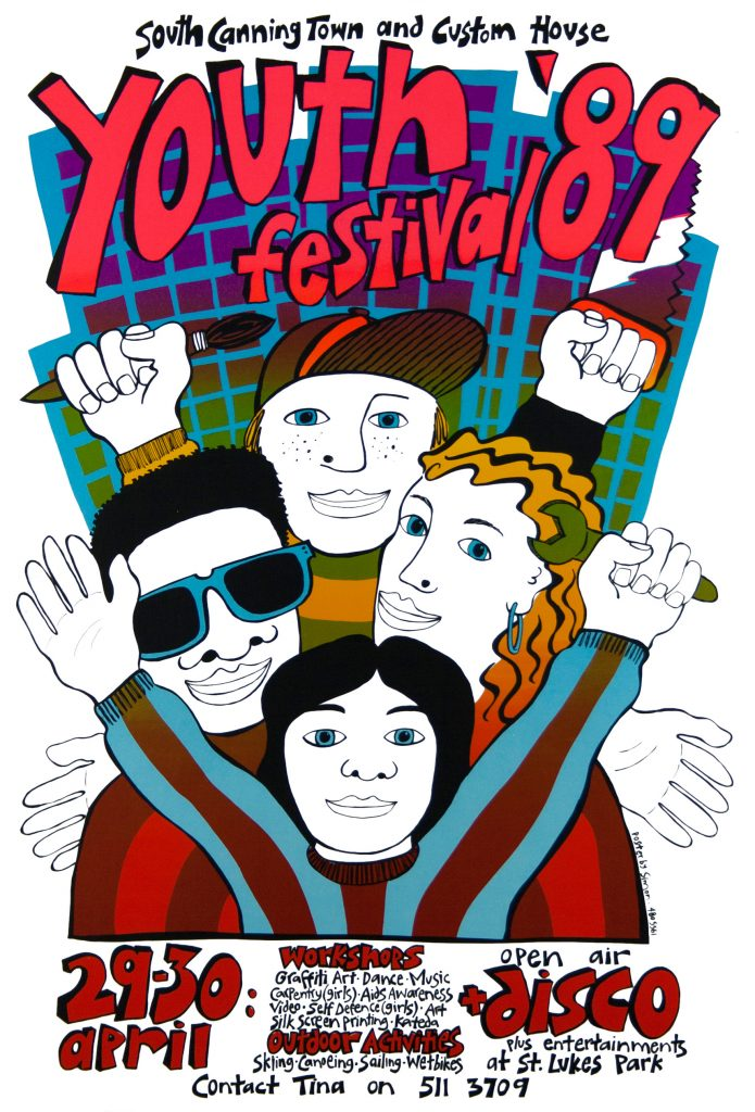 South-Canning-Town-and-Custom-House_Youth-Festival_1989